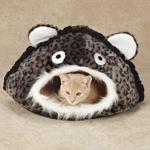 Meow Town Junglebädd - Grå Leopard